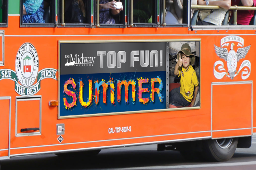 Midway Top Fun Summer Trolley