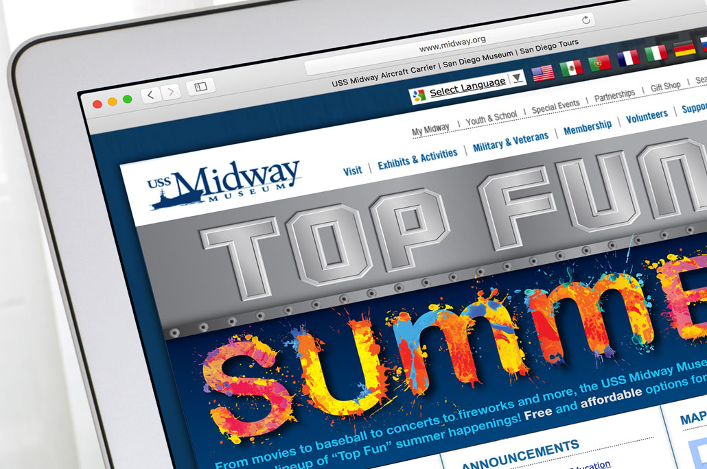 Midway Top Fun Summer Web Graphic