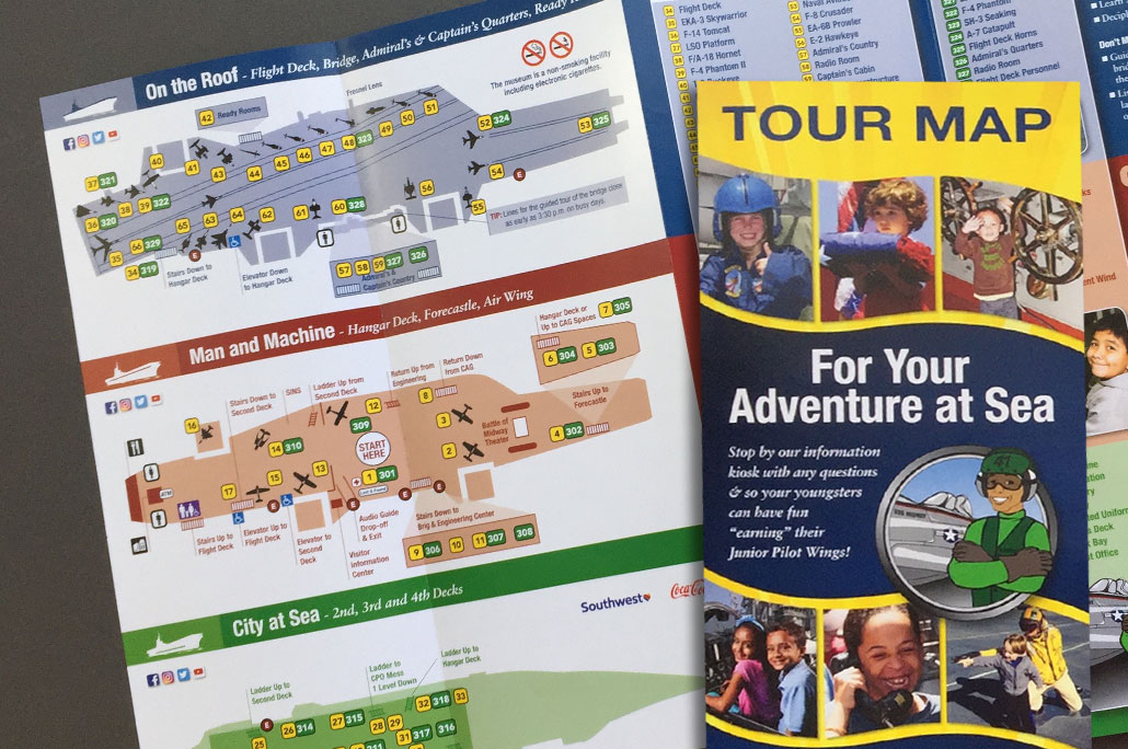 Midway Tour Map
