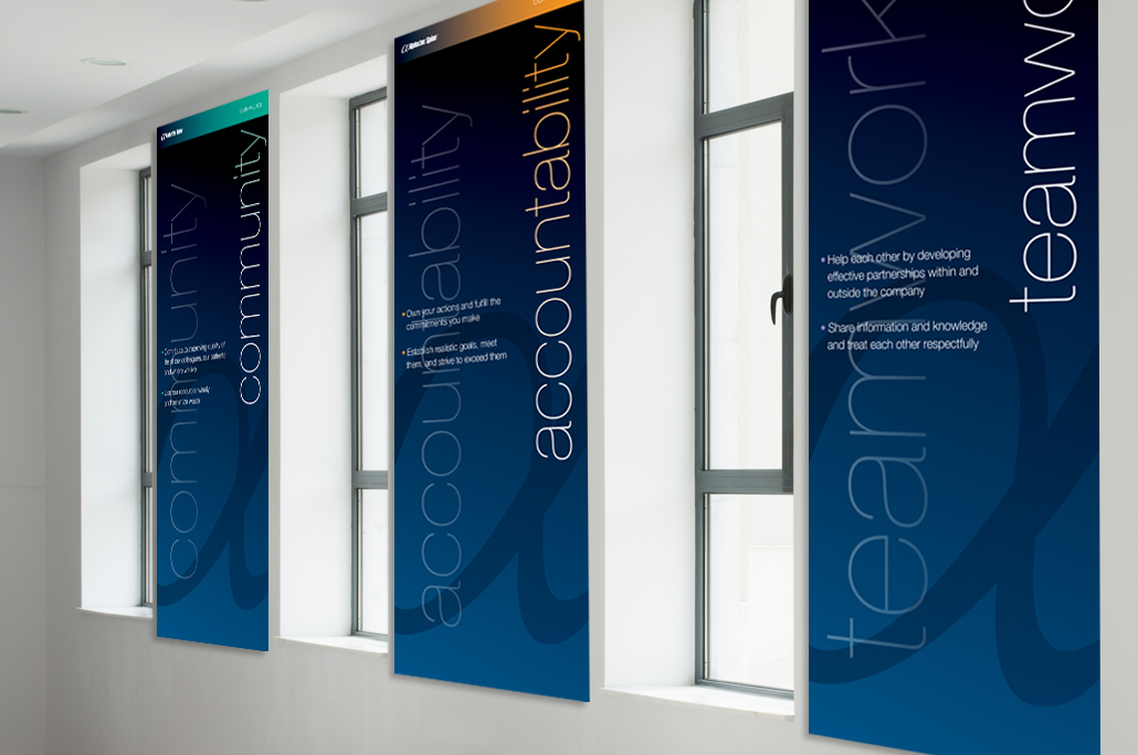 Alphatec Spine Office Signage - ChampCohen Design