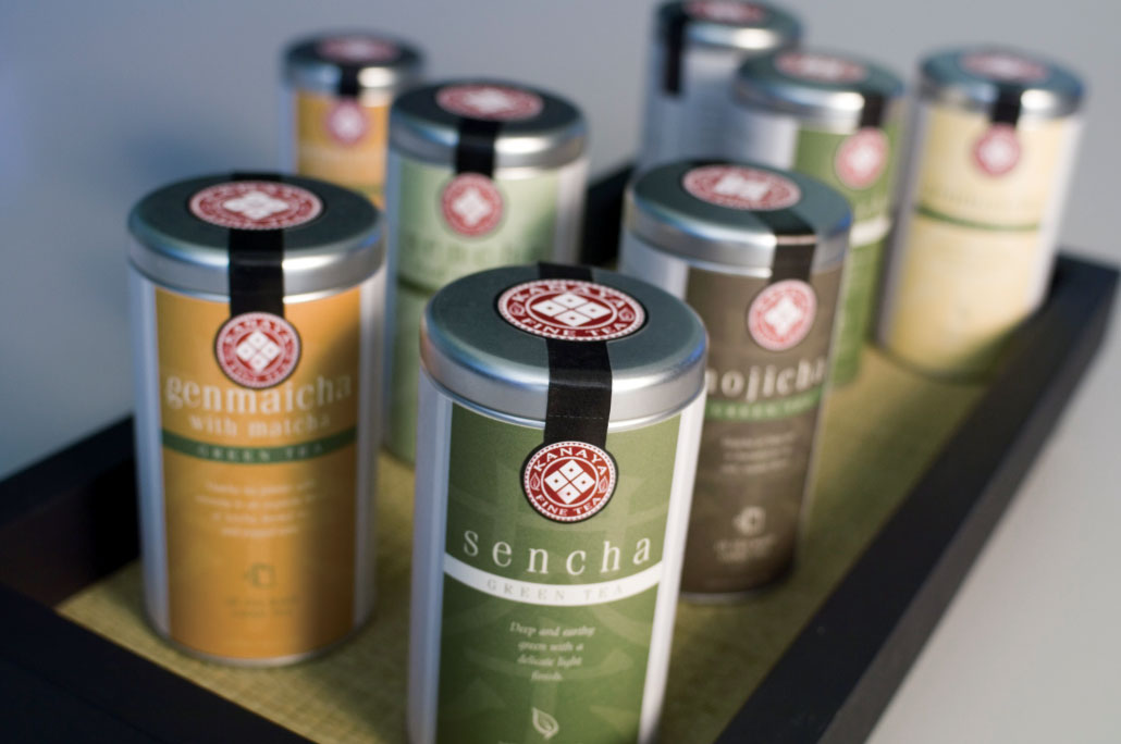 Kanaya Loose Tea Cans