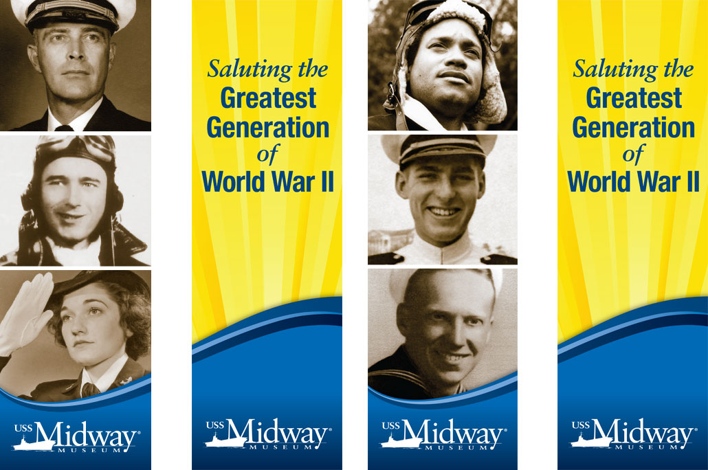 The Greatest Generation Banners