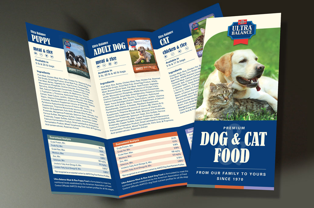 Ultra Balance Pet Food Brochure