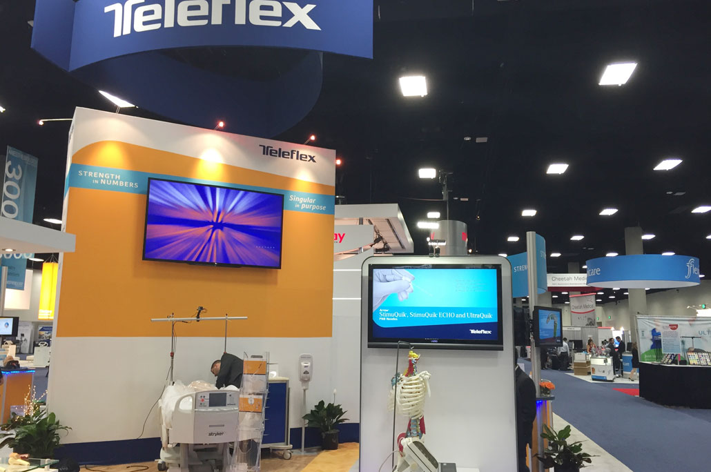 Teleflex ASA Booth Tower